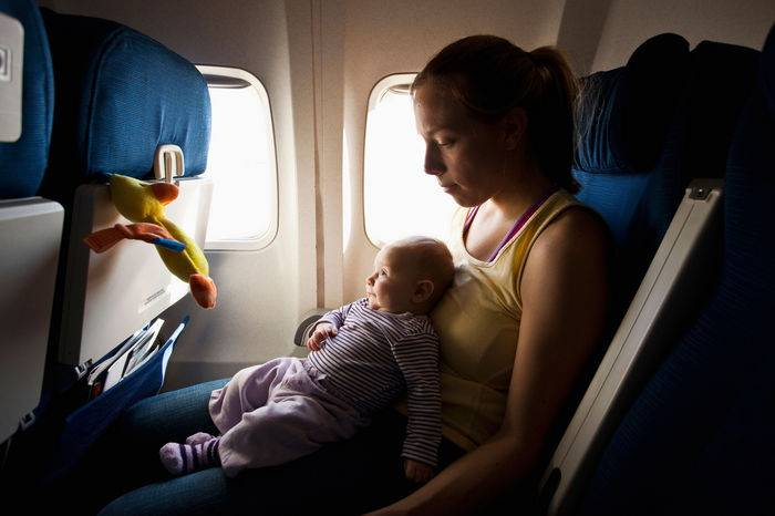 Перелет с ребенком до года — detiavito.info