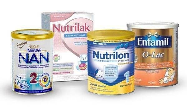 Детские смеси без лактозы