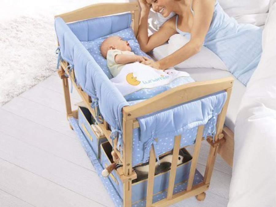 Своими руками люлька новорожденному и кроватка ребенку: как сделать детскую постель по схеме с фото и колыбель младенцу по чертежу и каким образом сшить матрас?