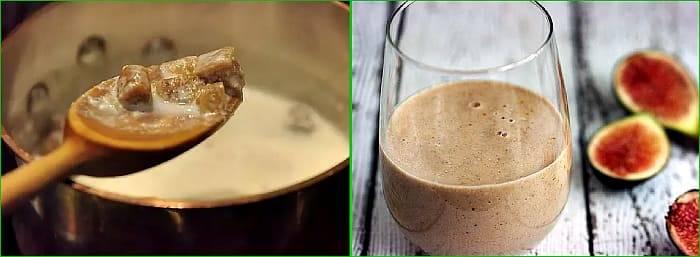 Инжир с молоком от кашля: рецепт приготовления для детей и взрослых, применение эликсира при беременности