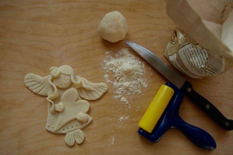 Поделки из теста - пошаговый мастер-класс изготовления красивых поделок своими руками (110 фото)