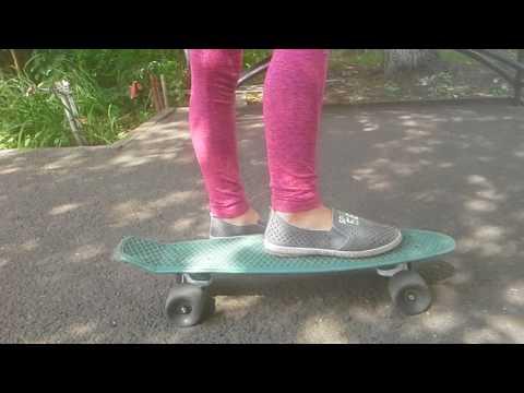 Пенни борд для детей - как выбрать и как научиться кататься