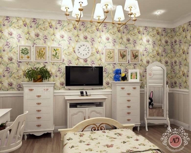Детская для девочки в стиле прованс: оформление комнаты, подбор мебели