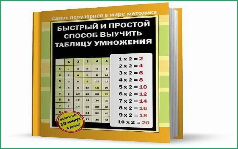 Как быстро выучить таблицу умножения: 9 способов