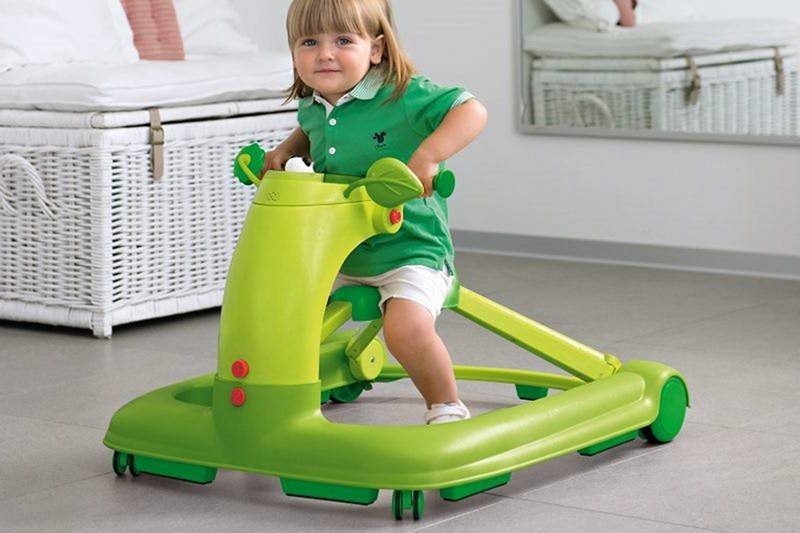 Применение ходунков для девочек