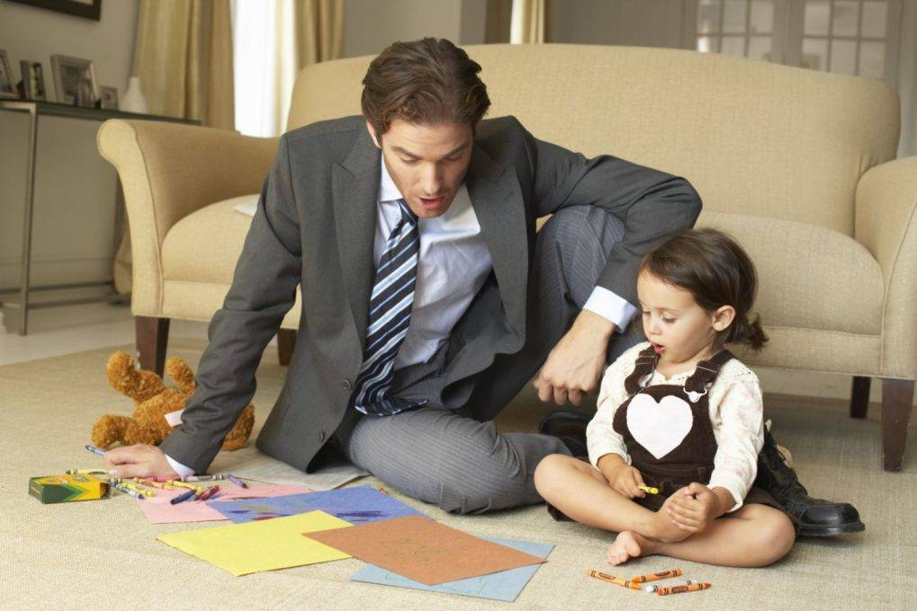 Как привлечь мужа к воспитанию ребенка