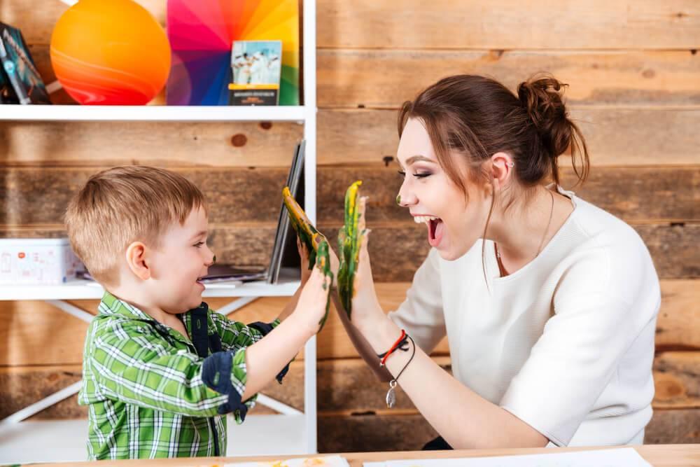 Ребенку все время нужна мама. — магазин развивающих игр и игрушек умный ребенок