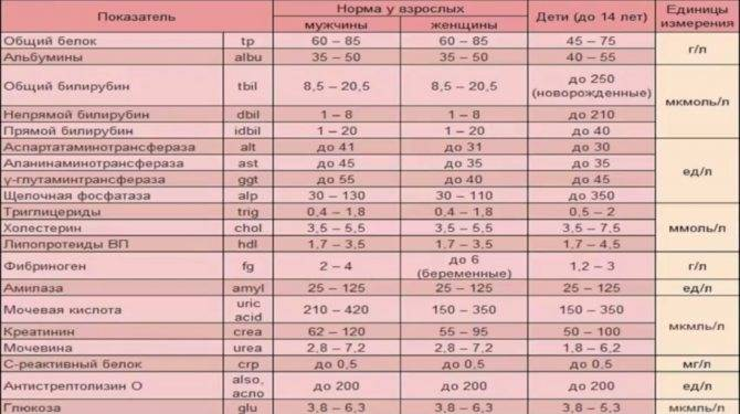 Общий (клинический) анализ крови, нормы: таблица с возрастными нормами результатов исследования крови по всем параметрам у мужчин и женщин, взрослых и детей.