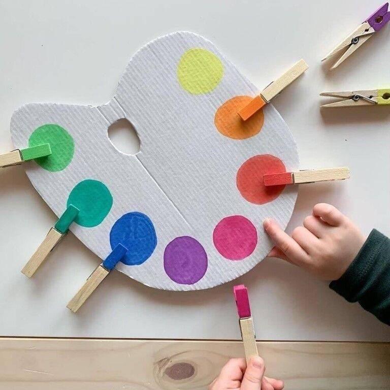 Поделки для ребенка 2 лет своими руками - пошаговя инструкция (100 фото лучших идей)