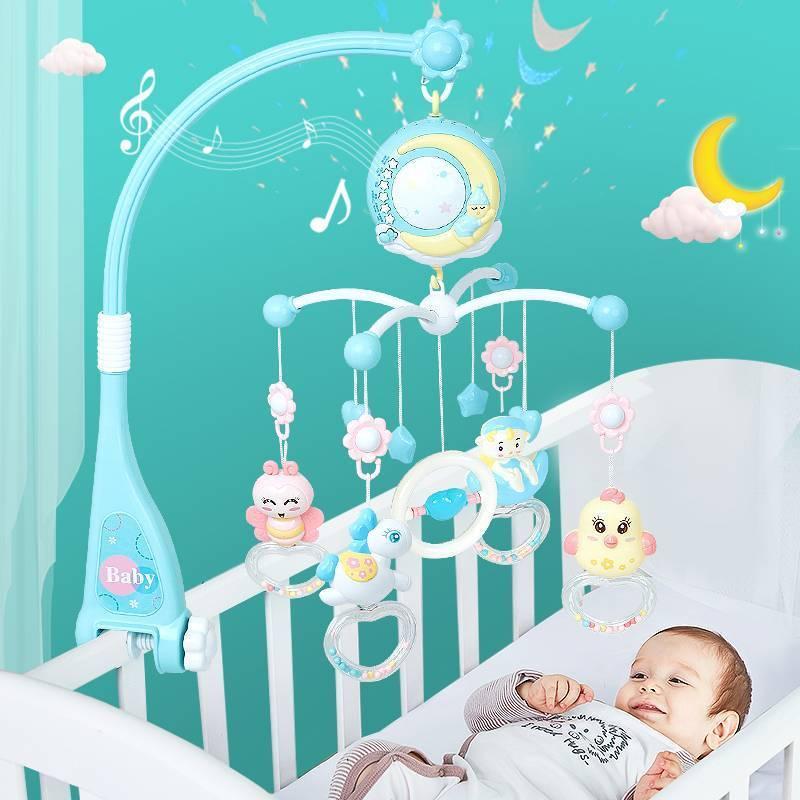 Когда новорожденному вешать мобиль