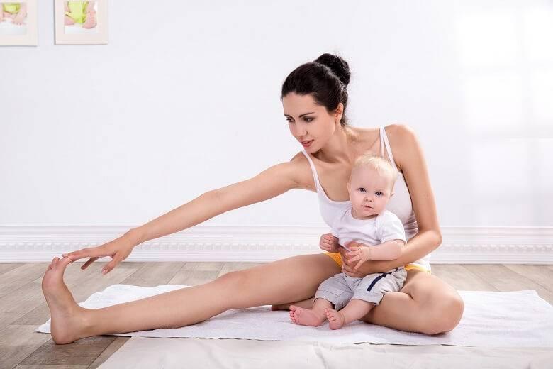 Когда можно качать пресс после родов кормящей маме