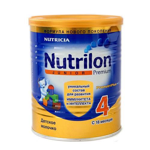 Ассортимент продукции nutricia
