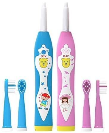 Детская электрическая зубная щетка: как выбрать - много зубов