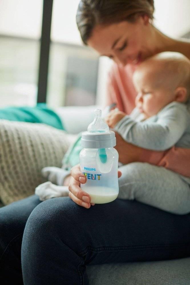 Антиколиковые бутылочки - для спокойствия мамы и ребенка - топотушки