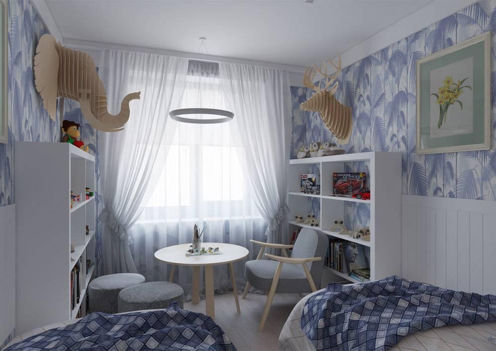 Детская комната в хрущевке для 2 детей: секреты функционального обустройства