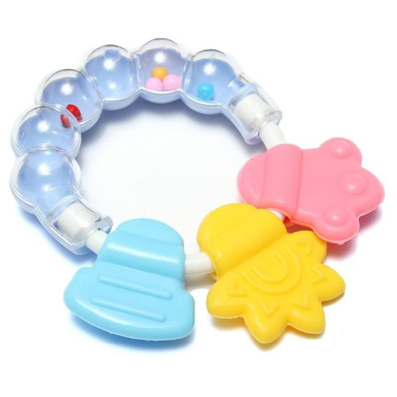 Какие прорезыватели лучше помогут маленьким зубкам