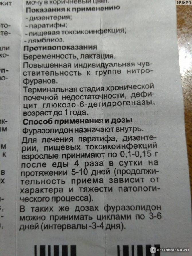 Фуразолидон в санкт-петербурге - инструкция по применению, описание, отзывы пациентов и врачей, аналоги