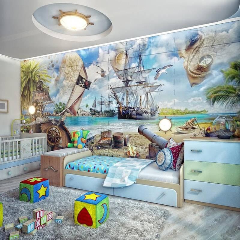 Обои с машинками для детской (30 фото): выбираем для мальчика фотообои с машинами, варианты дизайна стен в интерьере комнаты