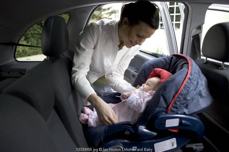 Правила перевозки детей в автомобиле с июля 2017: пдд