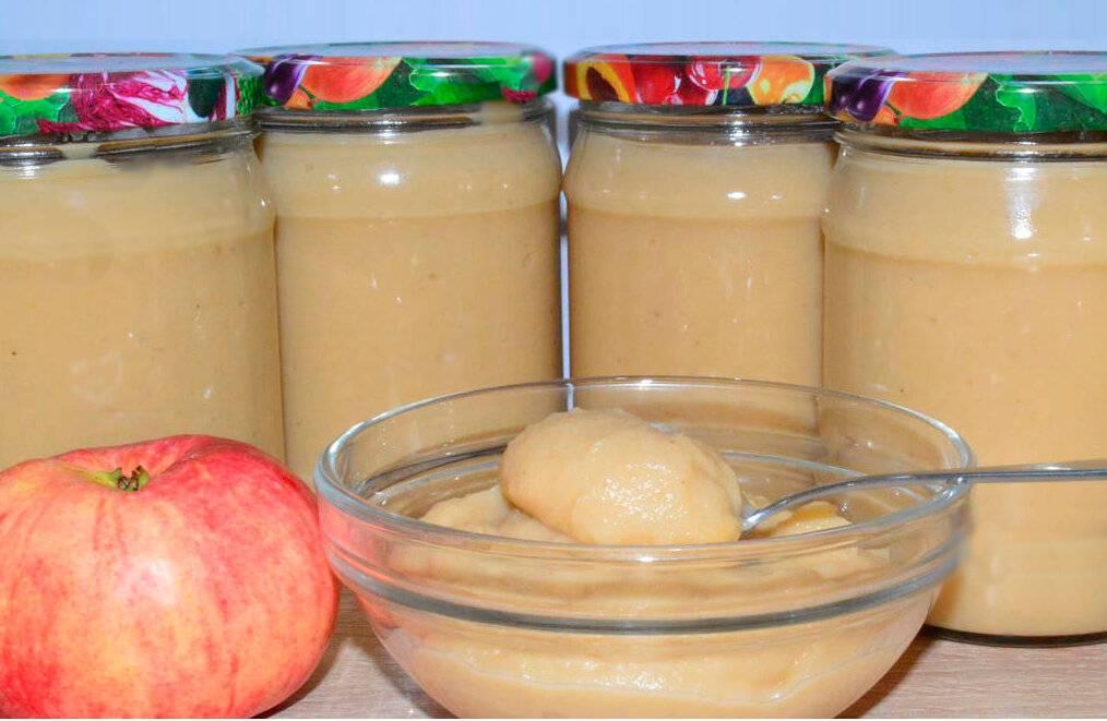 Яблочное пюре для грудничка своими руками
