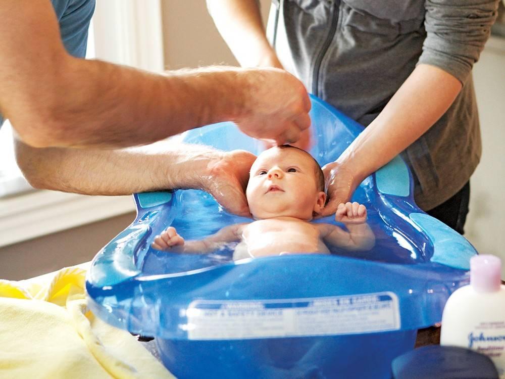 Купание новорожденных детей