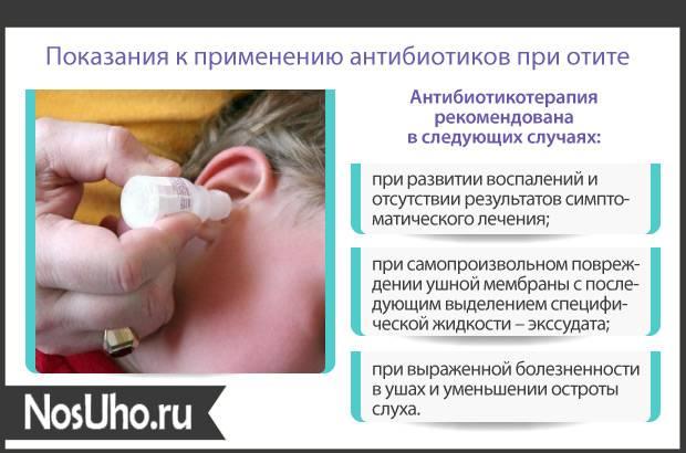 Острый средний отит у детей: симптомы и лечение