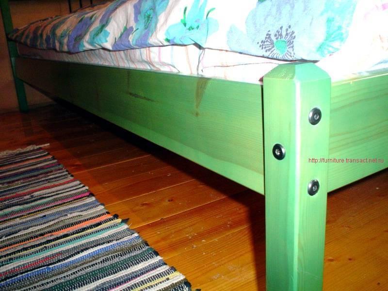 Как и чем покрасить детскую кроватку?