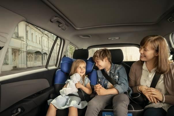 Как путешествовать на машине с младенцем