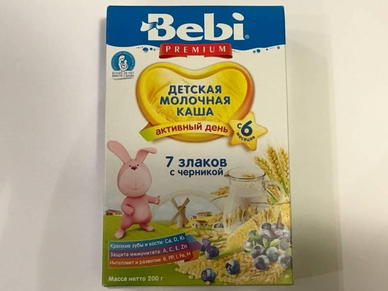 Молочные каши для детей до года - когда можно вводить в прикорм грудничку