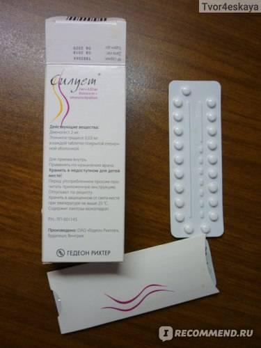 Противозачаточные таблетки силуэт: состав, принцип действия, инструкция, побочные эффекты