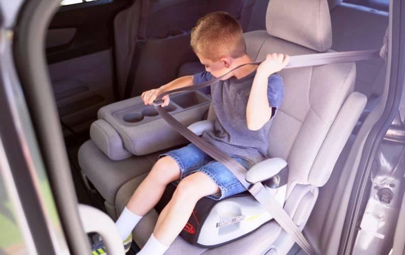 Можно ли использовать треугольник вместо детского кресла - в 2020 году, с какого возраста, гибдд