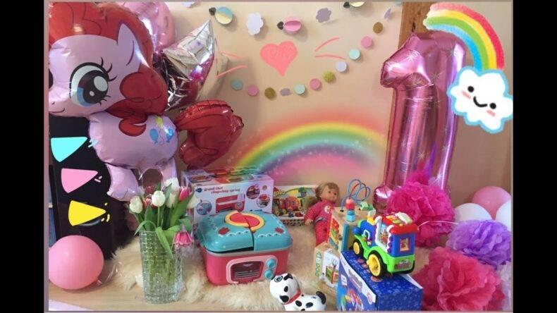 Что подарить ребенку на 2 года - девочке: идеи подарков на День рождения