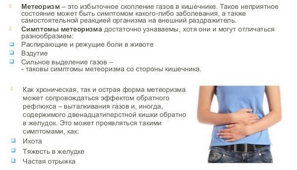 Почему в кишечнике усиливается газообразование