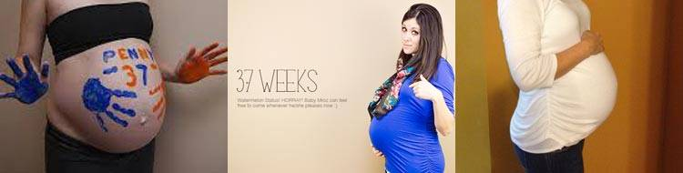 36 неделя беременности - что происходит, вес и рост ребенка, предвестники родов