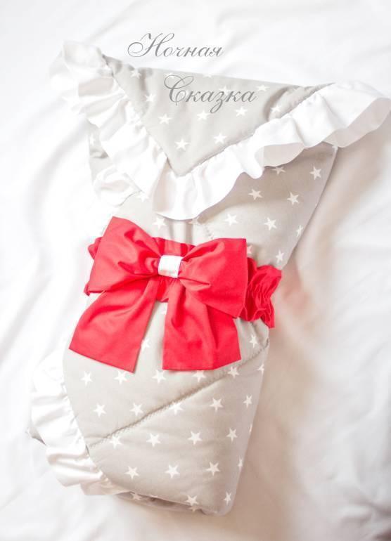 Как сшить конверт на выписку для новорожденного своими руками? как украсить конверт?