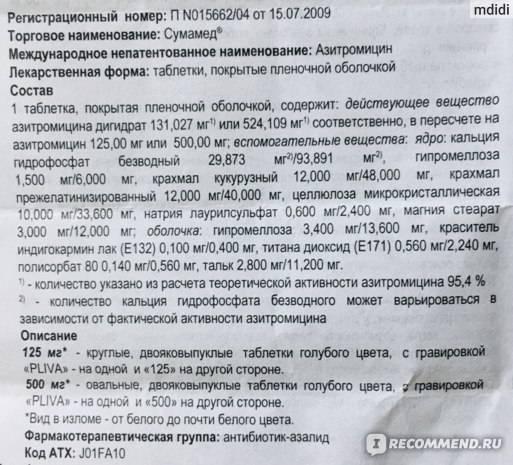 Азитромицин капсулы 500 мг 3 шт.   (производство медикаментов) - купить в аптеке по цене 88 руб., инструкция по применению, описание, аналоги