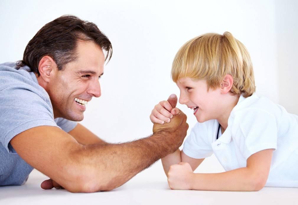 Муж не воспитывает ребенка - что делать женщине