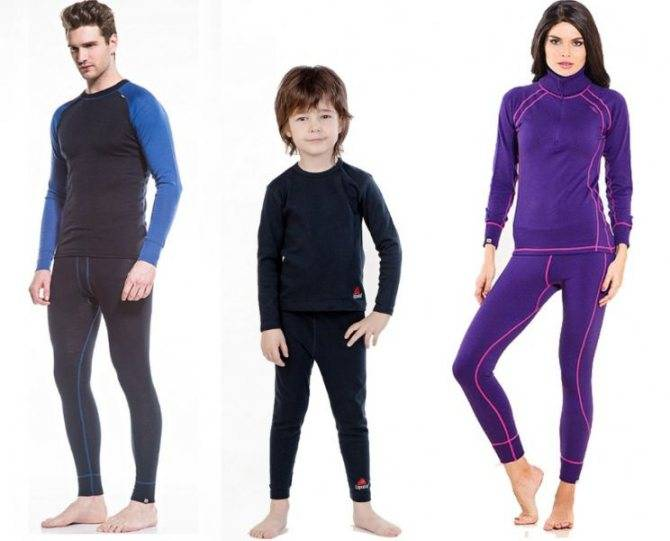 Как выбрать ребенку термобелье, советы по ношению термобелья