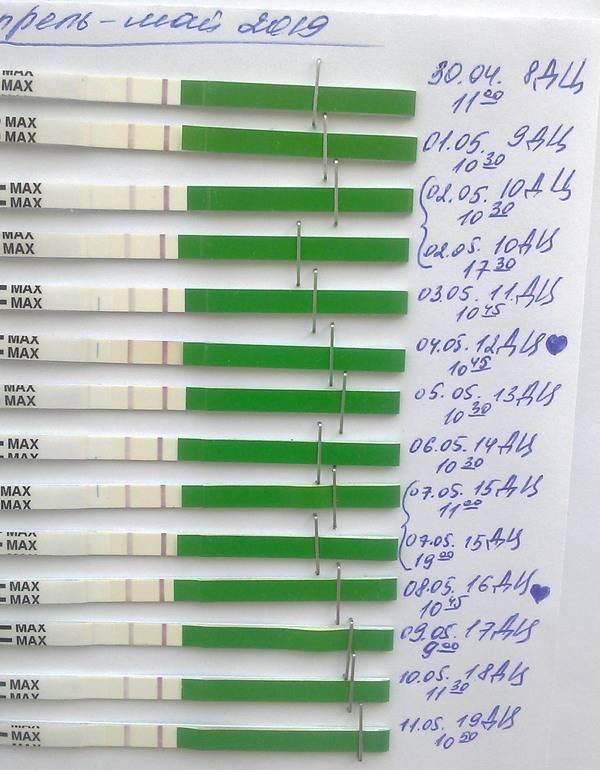 В каких случаях тест на овуляцию может показать беременность? и возможно ли это