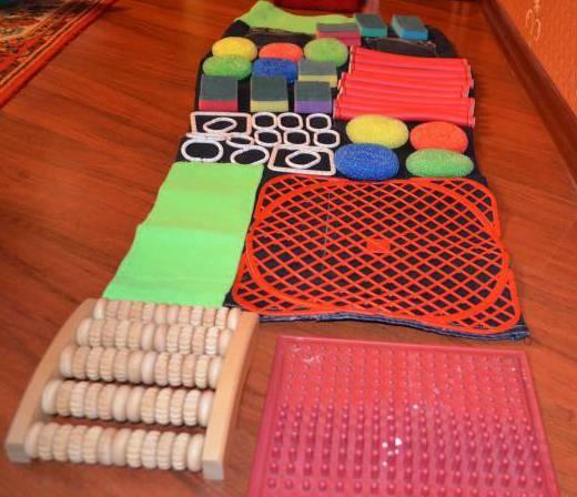 Мастер-класс «изготовление массажных ковриков своими руками и их влияние на укрепление здоровья детей»