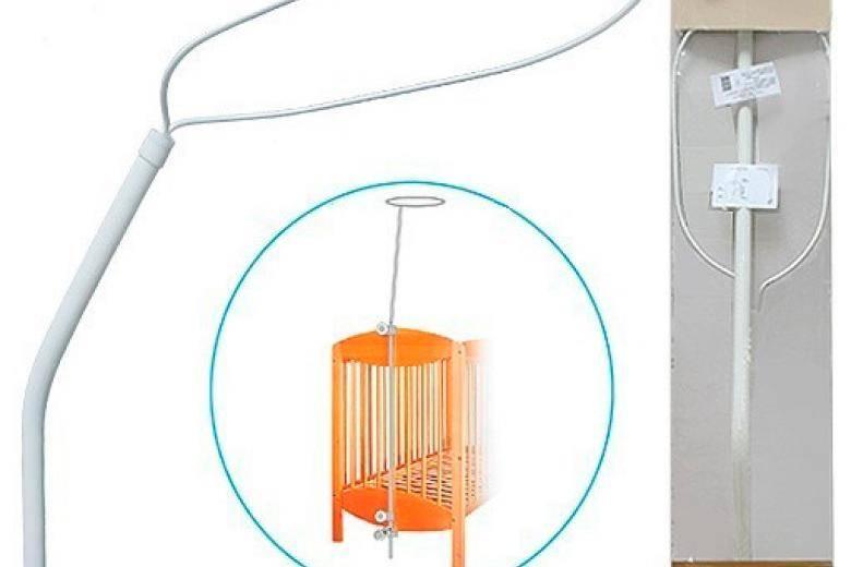 Держатель для балдахина: виды креплений, кронштейнов и карнизов, опора-палка для настенной модели, как крепить к кроватке или стене