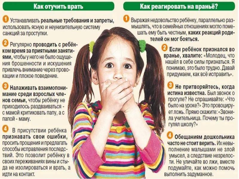 Почему ребенок врет и что делать с ложью   психология