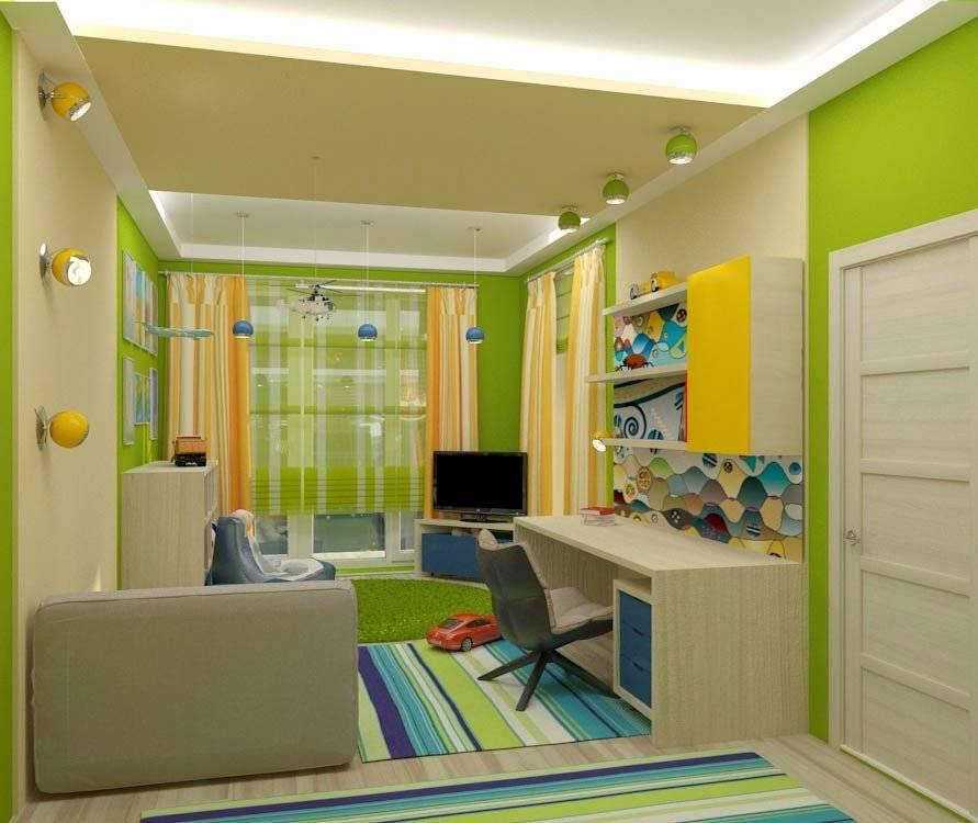 Детская 9 кв. м. - 110 фото вариантов отделок детских комнат и обзор лучших проектов