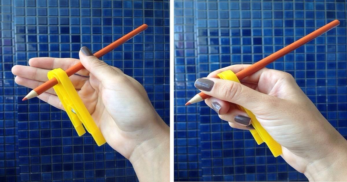 Как научить ребенка правильно держать ручку 6 простых способов