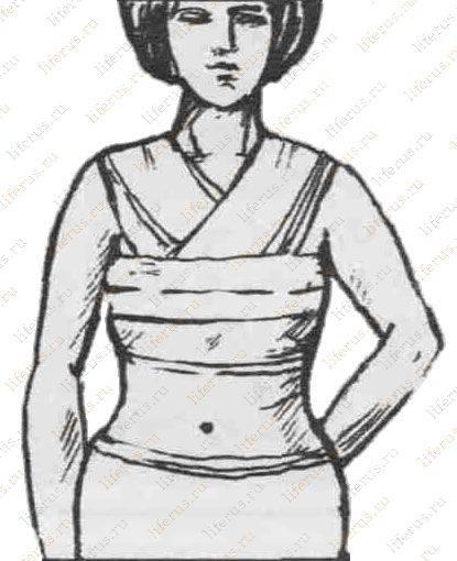 Как перевязать грудные железы для предотвращения лактации