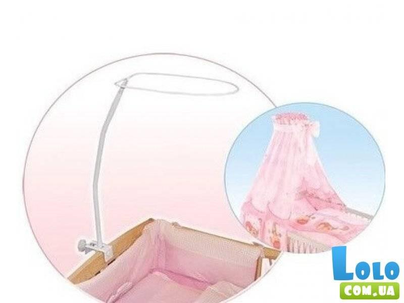 Как установить балдахин на кроватку детскую видео