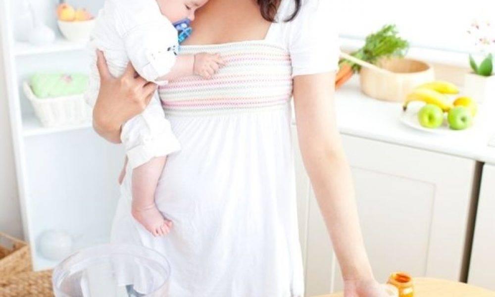 Как быстро похудеть после кесарева сечения кормящей маме?