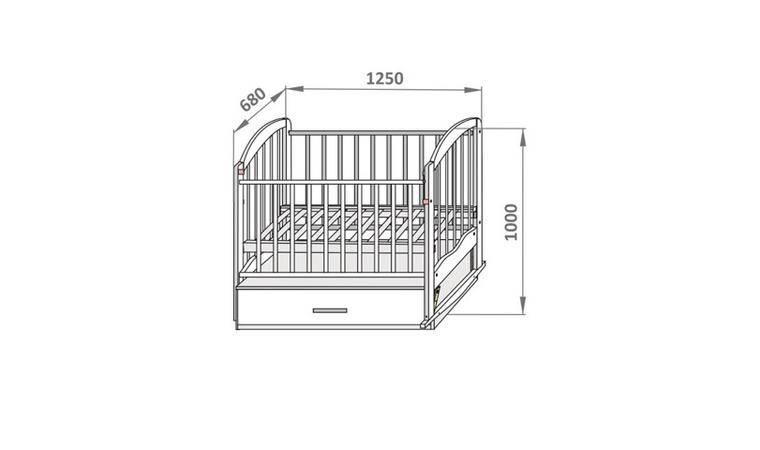 Размеры детской кровати: какие бывают, как правильно подобрать