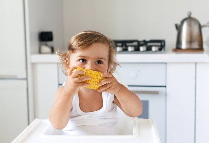 Кукуруза детям: польза и вред