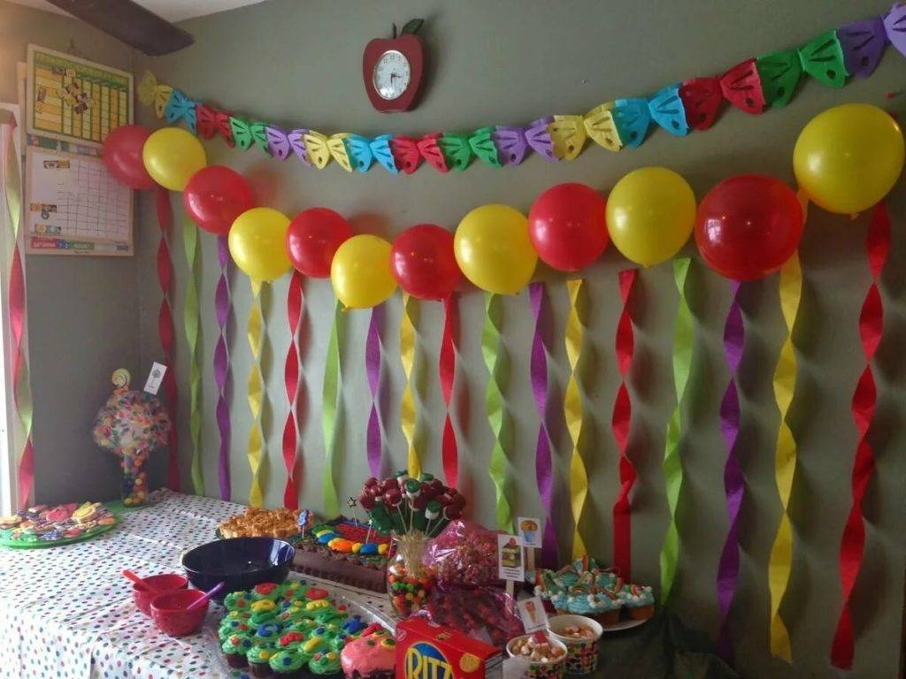 Как украсить комнату на день рождения ребенка? шары и другие украшения для детского праздника, украшаем квартиру для девочек и мальчиков своими руками